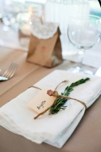 Inspiration: Wedding Place Settings