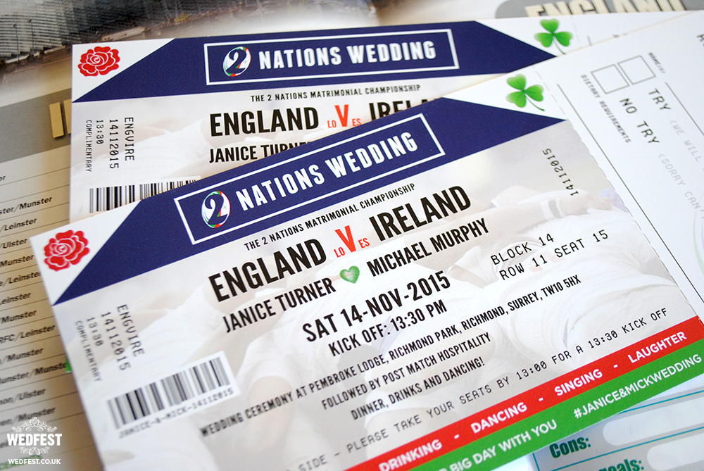 Best 25+ England rugby tickets ideas on Pinterest England rugby - concert ticket birthday invitations