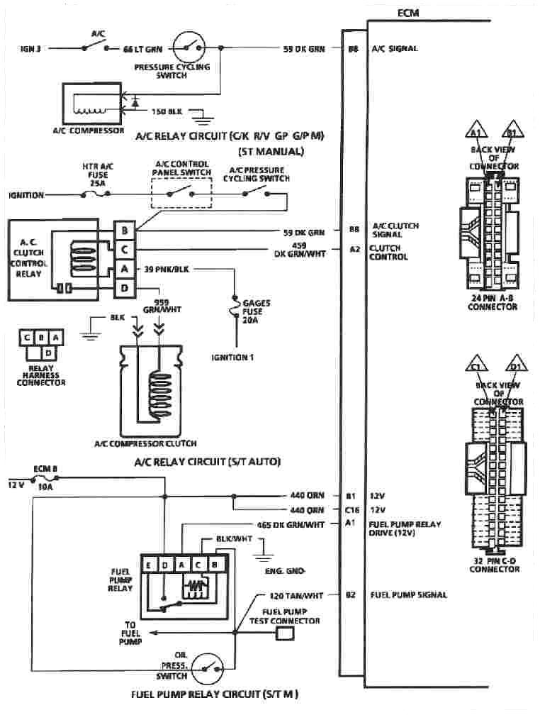 1993 Chevy 5 7 Wiring Diagram Wiring Diagram