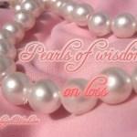 Pearls of Wisdom: on loss