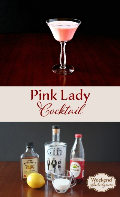 Recipe for Pink Lady