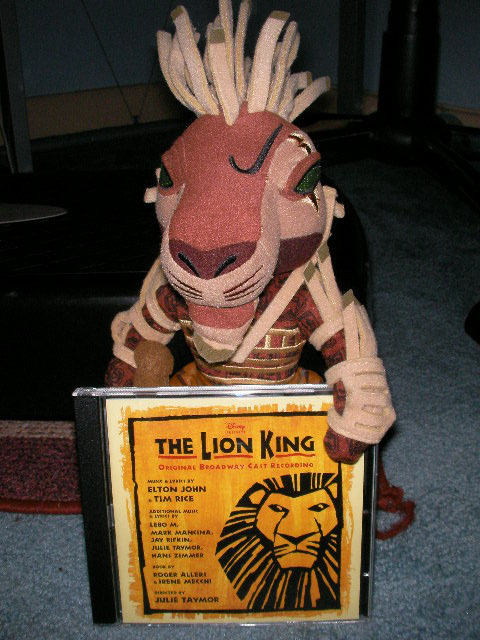 what theatre is lion king playing at