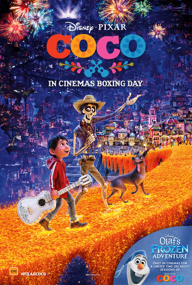 Animated New Year Wallpaper Coco Film Review Everywhere