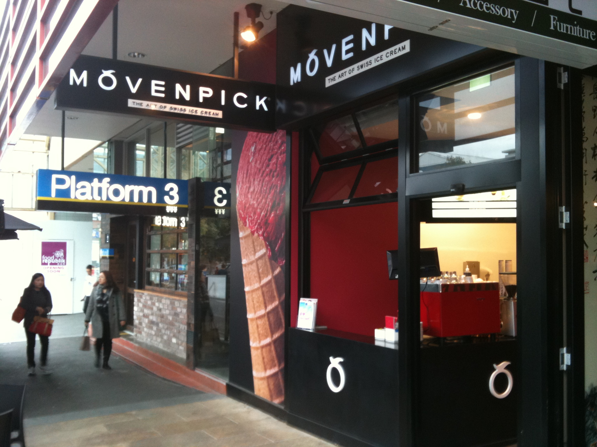 Movenpick Ice Cream Melbourne