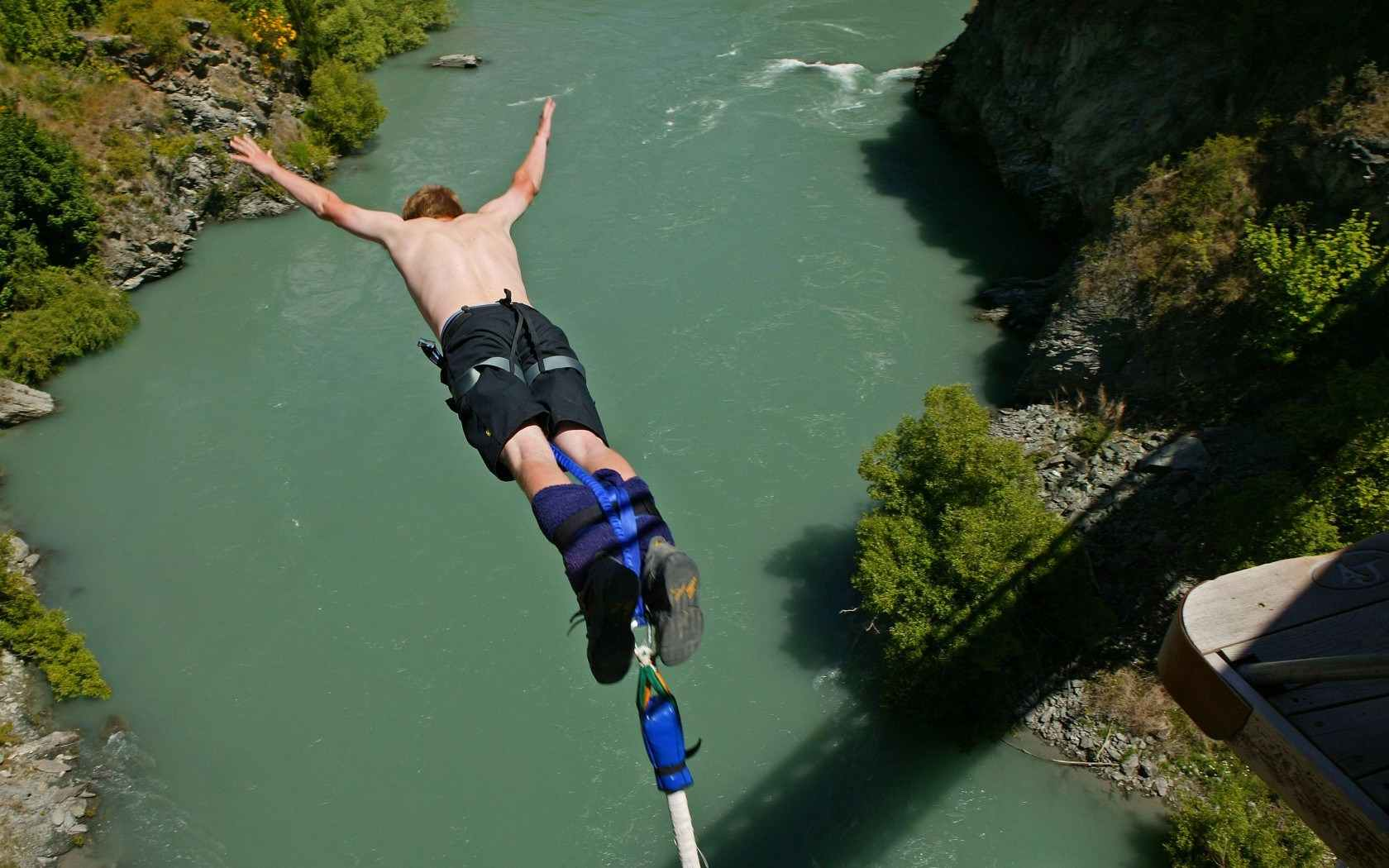 Day Of The Dead Girl Wallpaper Bungee Jumping In Rishikesh Weekend Thrill