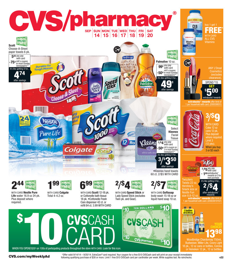 cvs flyer next week