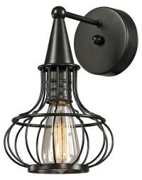 ELK Lighting Yardley Collection 1 Light Sconce In Oil ...