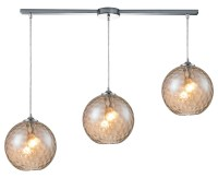 ELK Lighting Three Light Polished Chrome Multi Light