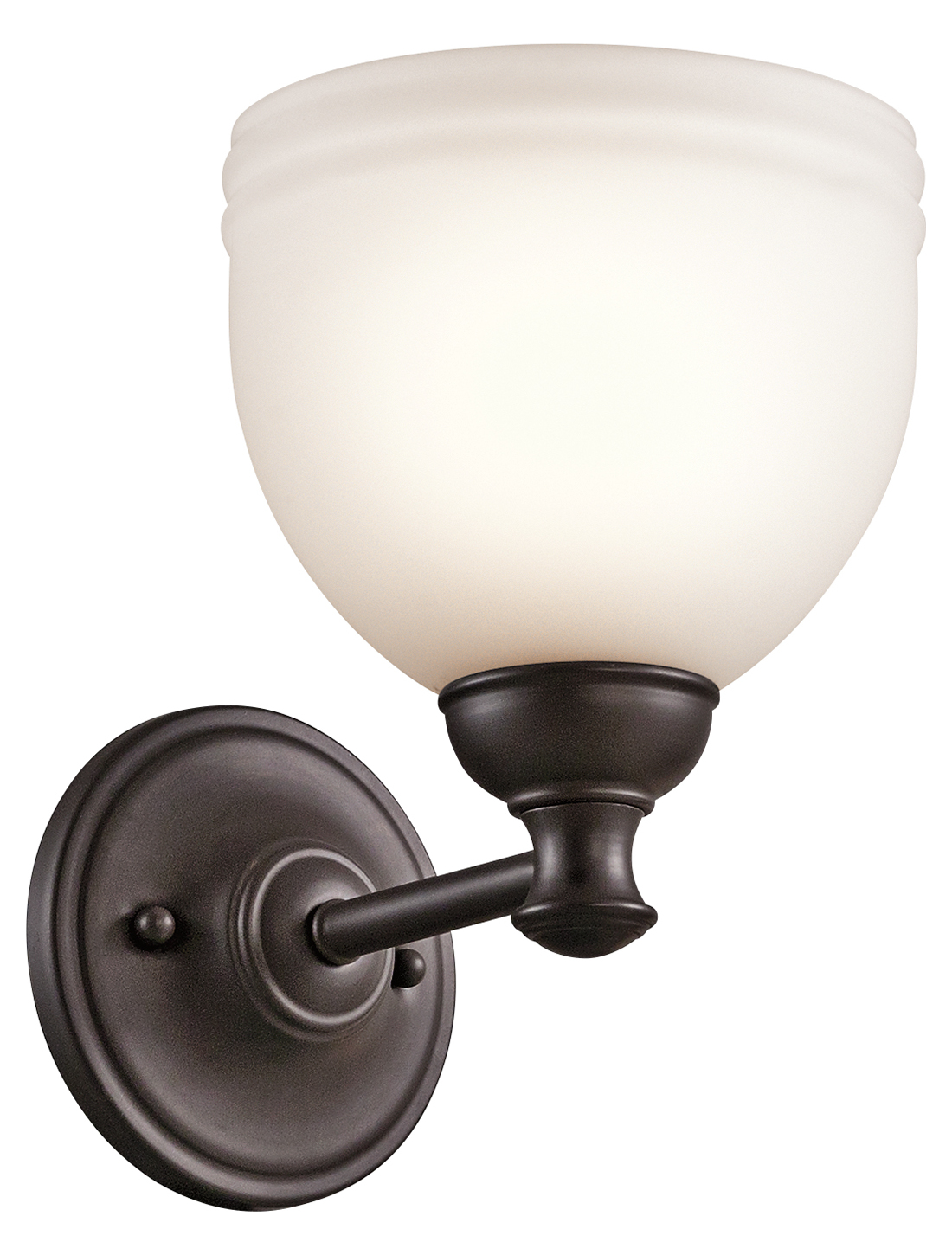 Kichler Wall Sconce 1Lt Oil Rubbed Bronze 45611ORZ From