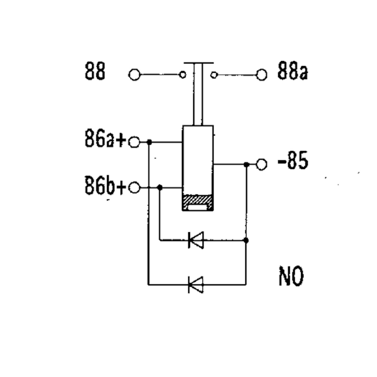 high current bistable relay