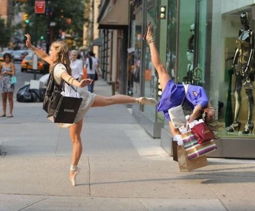 All-Weekend Open Thread Dance Party: Ballet Shopping Edition
