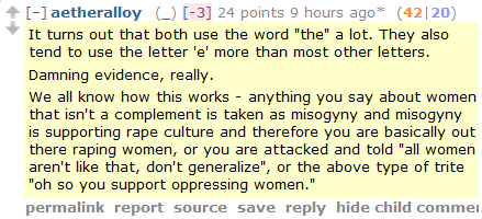 Rapists, lad mags, and the Men's Rights subreddit