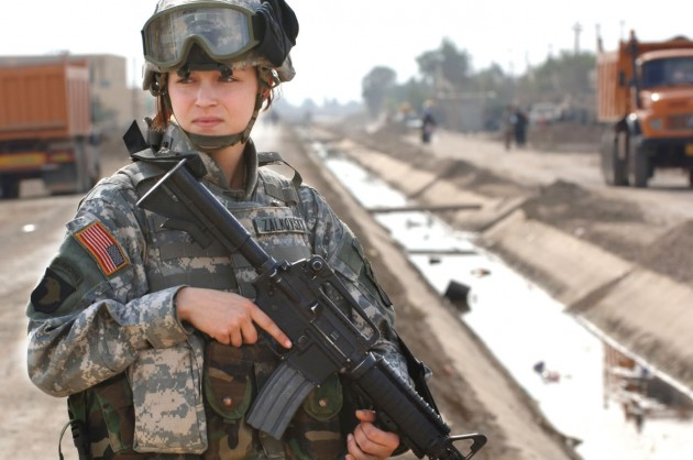 A Voice for Men: we'll support women in combat only if the proper percentage of women get killed.