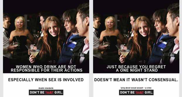 "The ""Don't Be That Girl"" Poster Controversy in Edmonton, and A Voice for Men's History of Rape Apologia"