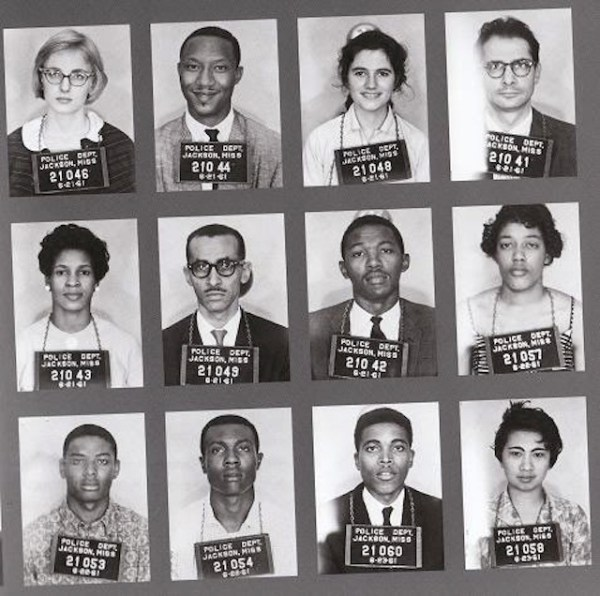 Mugshots of Freedom Riders. Click on image for more info, and more pictures.