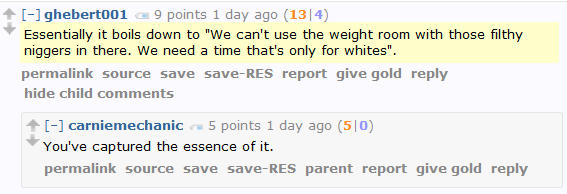 Do You Even Lift, B*tches? Men's Rightsers fight the injustice of hypothetical women-only weight room hours