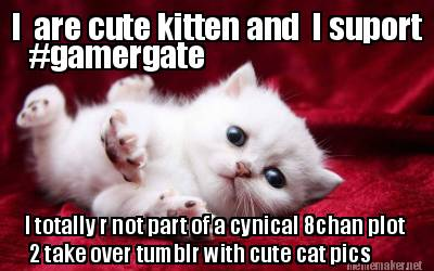 Inside #GamerGate's super seekrit plan to take over Tumblr with cute cat pics and Vivian James