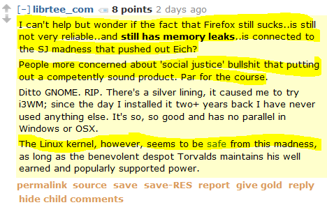 This Men's Rights Redditor has figured out the source of Firefox's memory leaks