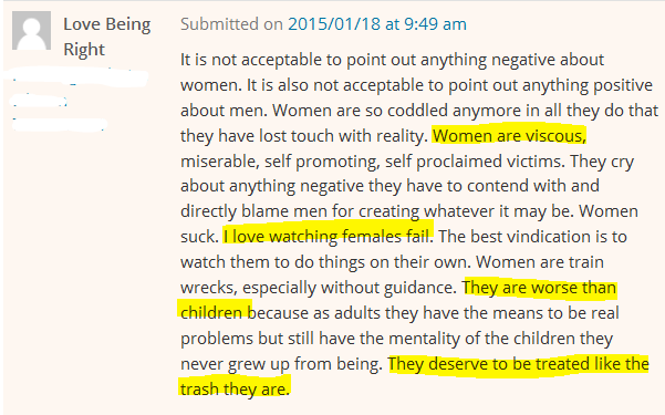 On the Viscosity of Women (Comments I Don't Let Through, Part 327)