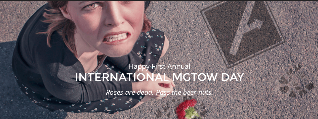 Men Going Their Own Way transform the hated Valentine's Day into International MGTOW Day. No one cares.