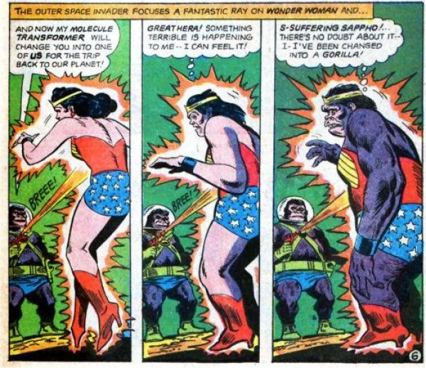 Gorillas and women, what's the difference?