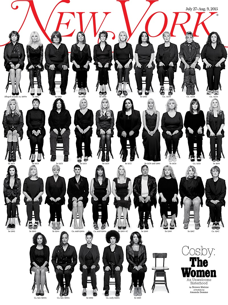Hey, Cosby defenders: Look these women in the face and tell me they're lying. All of them.