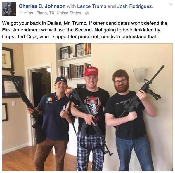 Trump's Brownshirts? Trump supporters threaten to take up arms ...