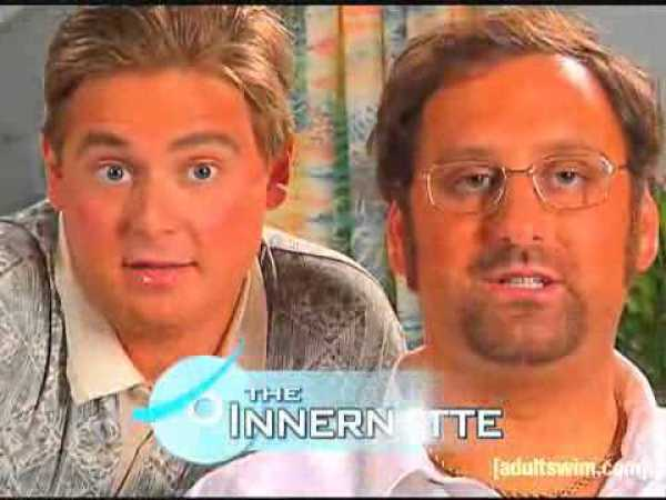 Like Donald Trump, Tim and Eric like putting orange stuff on their faces