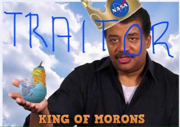 Flat Earthers: Not big fans of Neil deGrasse Tyson