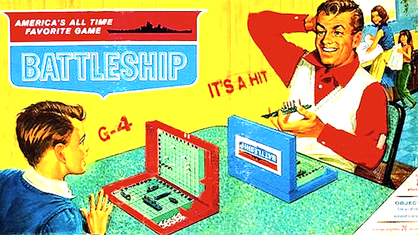 Tech your daughter she's a second class citizen by forcing her to wash dishes with mom while you play a manly game of Battleship with your son