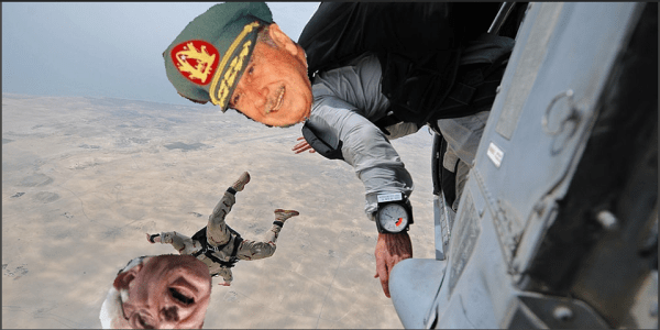 Pinochet Helicopter
