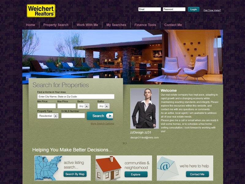 Weichert Real Estate Agent Templates - neighborhood website templates