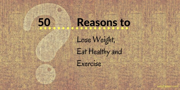 Reasons to lose weight