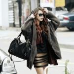 Faux-Fur Open Coat