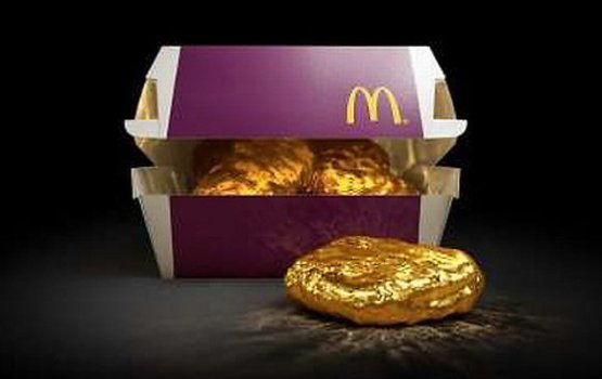 McDonald's Japan's Best Happy Meal Toy: An 18-Karat Gold McNugget