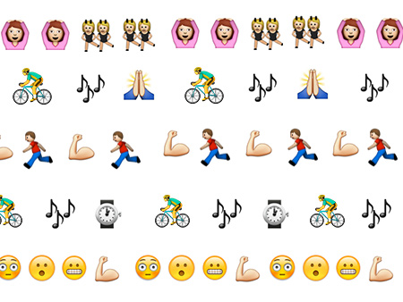Workout Emojis for 12 top New York City studios Well+Good