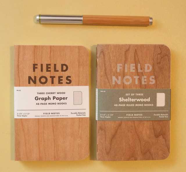 Field Notes Cherry Wood vs. Shelterwood