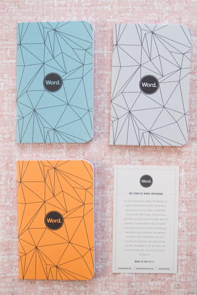 Word. Notebook Polygon