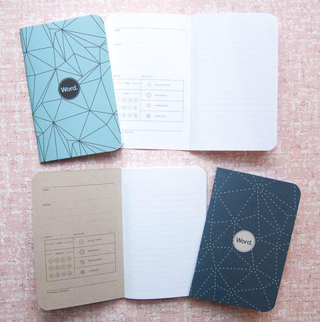Word. Notebooks comparison