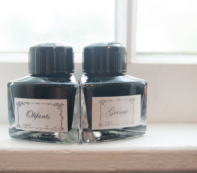 Callifolio ink bottles