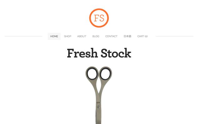 Fresh Stock Japan Screenshot