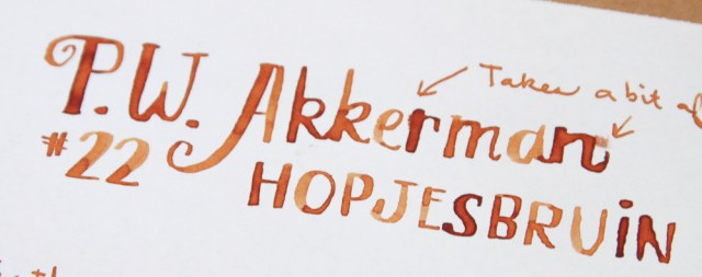 Akkerman Hopjesbraun Ink