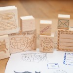 Paper Pastries Rubber Stamps