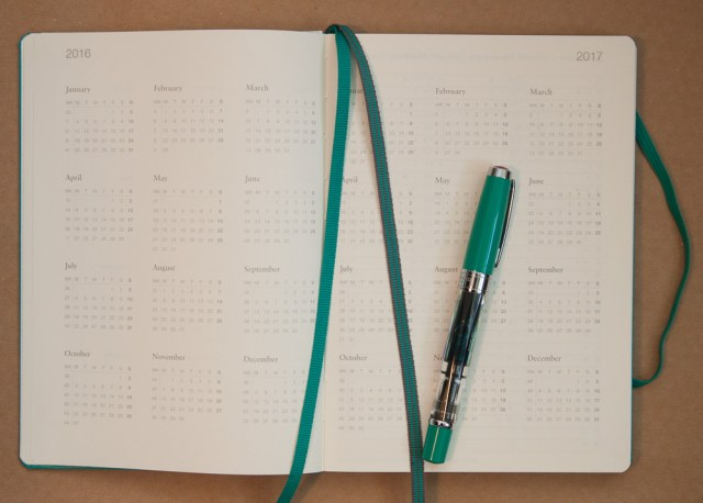 Leuchtturm1917 2016 planner year at a glance