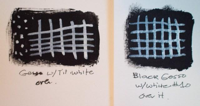 Kuretake Gansai Tambi Watercolor Palette Opaque White Comparison