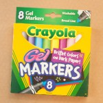 Pen Review: Crayola Gel Markers