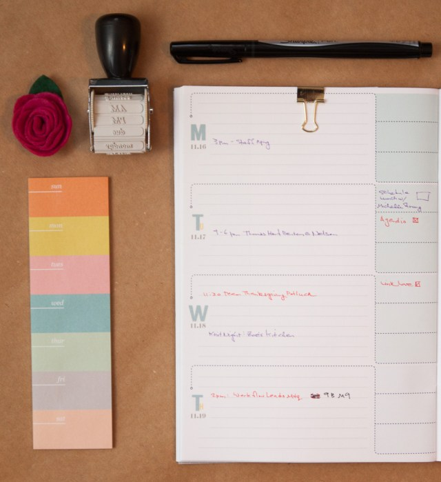 Inkwell Press Quarterly Planner