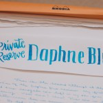 Ink Review: Private Reserve Daphne Blue