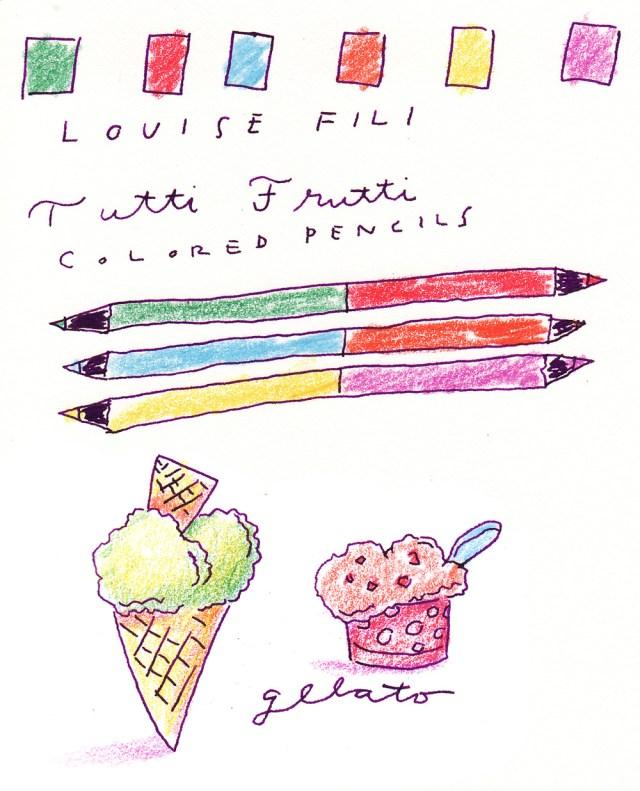 Louise Fili Pencils