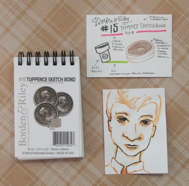 Borden & Riley Tuppence Sketchbook